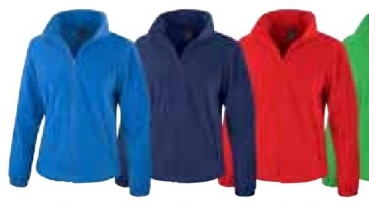 Fleece Jacke Ladies (Ultramarine, XXL)